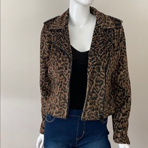NWT Romeo & Juliet Couture Faux Fur Bomber Jacket